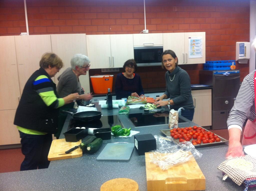Kochabend der Landfrauen Januar 2015