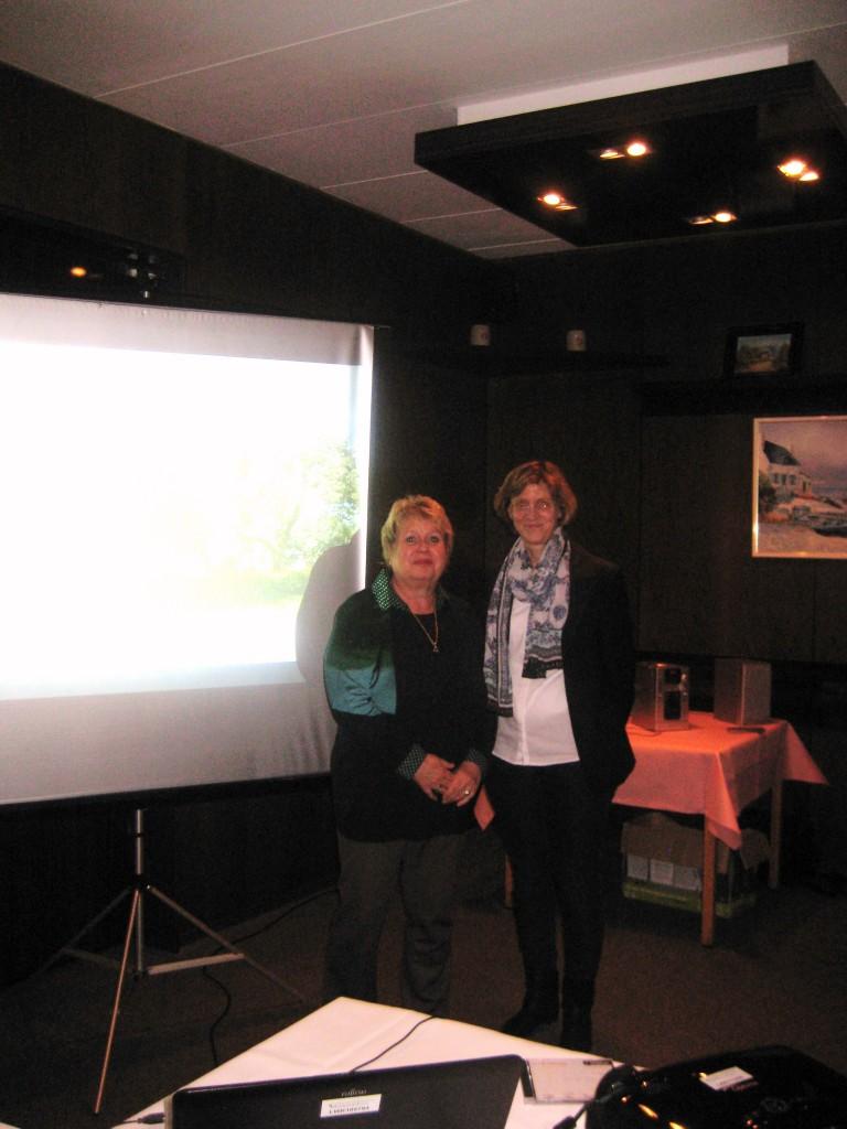 Klaudia Piliptschuk und die Referentin, Frau Dralle